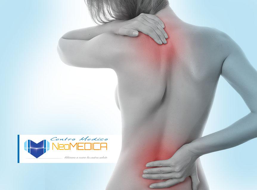 Soffri di mal di schiena, cervicalgia o dolori muscolari diffusi?